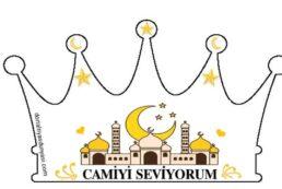 Camiyi Seviyorum Tacı – Dini Mekanlarımı Seviyorum<br>