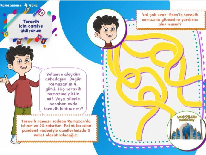 Ramazan Sevincim- Ramazan Günlüğü -30 Güne 30 etkinlik<br>