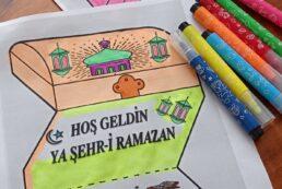 3D Ramazan Kartı -Hoş Geldin Ya Şehr-i Ramazan