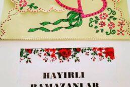 Kalpli Ramazan Kartı<br>