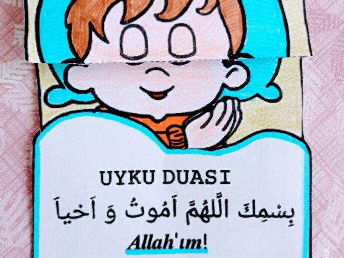 Çocuklar İçin Uyku Duası Etkinliği