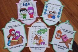 Ramazan Kitabım Etkinliği – Ramazan Boyama Sayfası