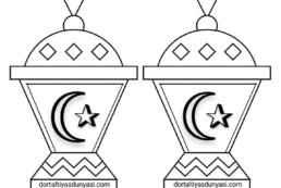 Ramazan Pano Yazı Şablonu – Fener