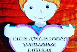 15 Temmuz Şehitleri Etkinliği – Kalpli