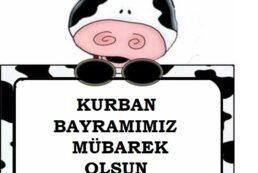 KURBAN BAYRAMI TEBRİK KARTI -1
