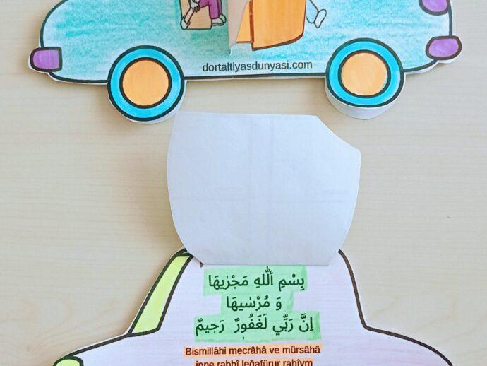 Çocuklar İçin Araba Duası Etkinliği